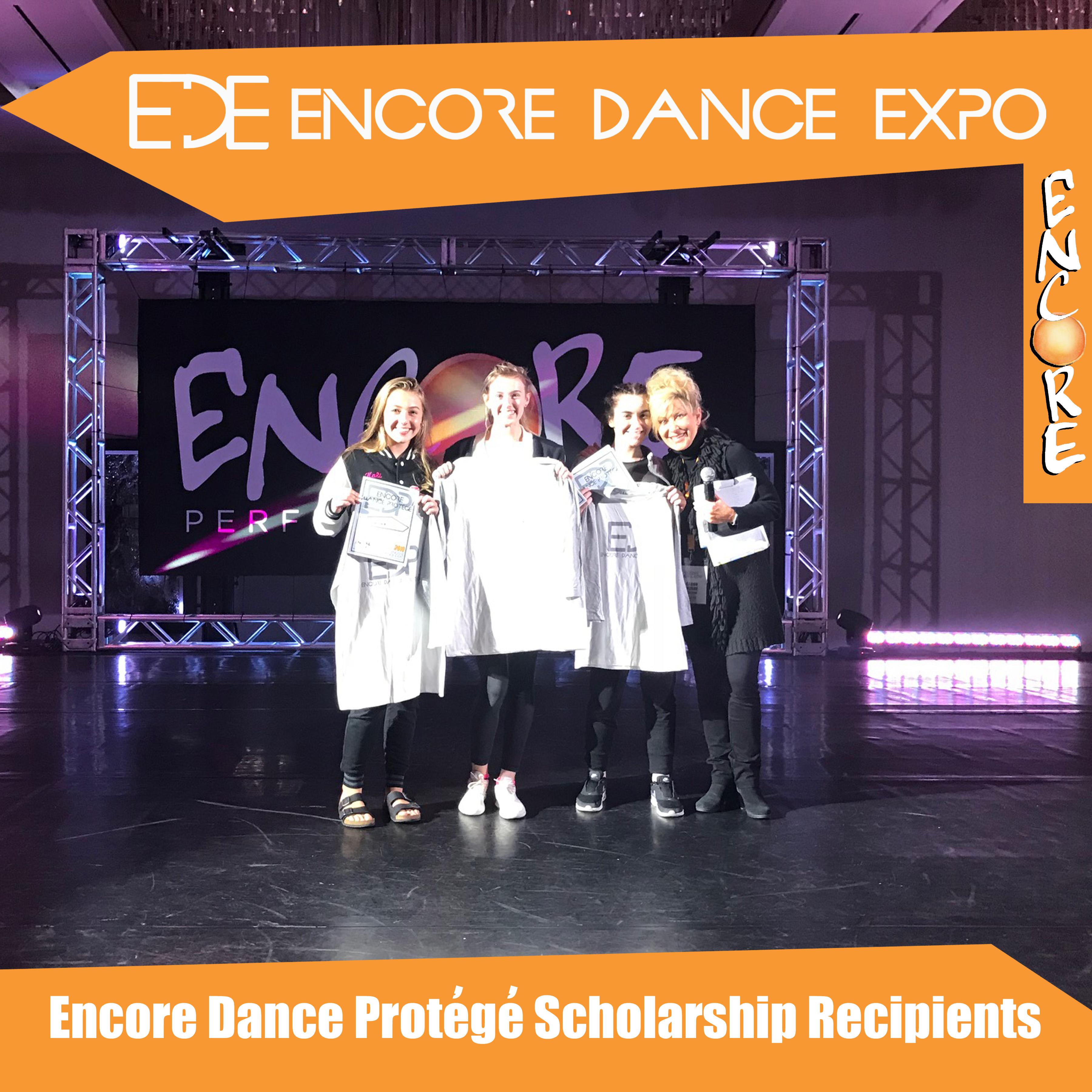 EDE - Encore Dance Protege scholarship recipients